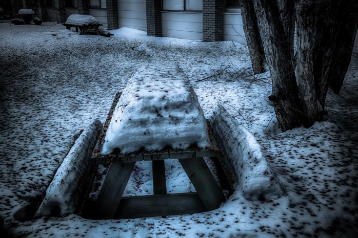 Courtyard Melt - High Level, Alberta 1
