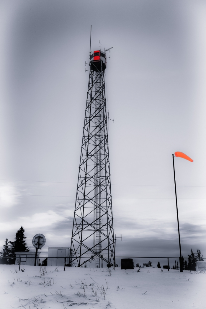Fire Tower, Watt Mountain - High Level, Alberta 1