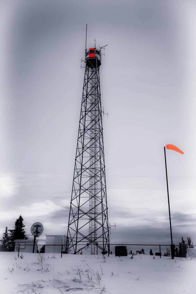 Fire Tower, Watt Mountain - High Level, Alberta 1