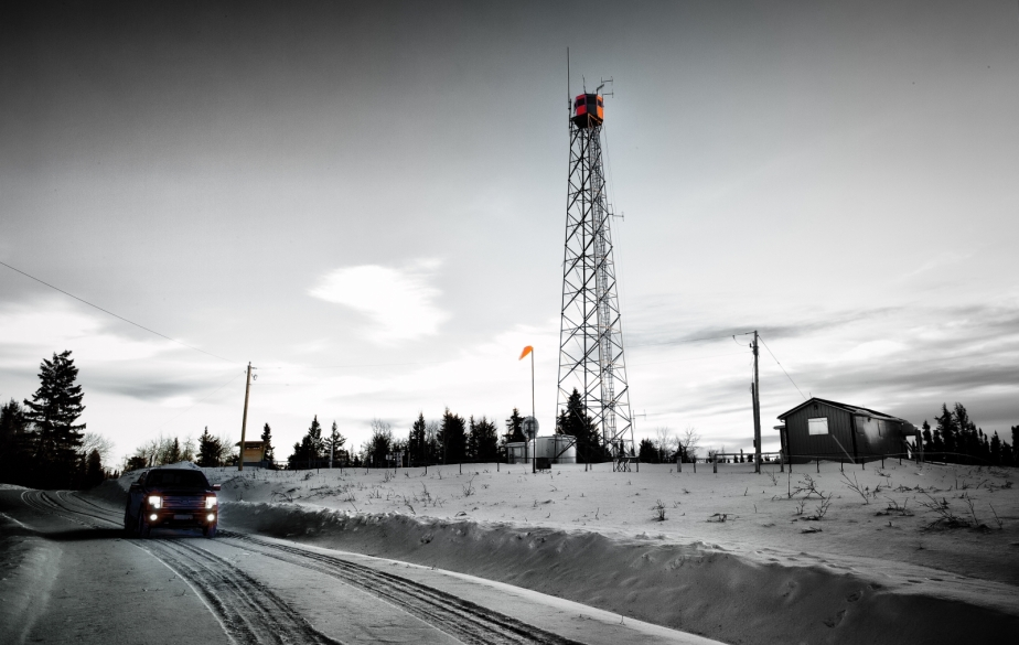 Fire Tower, Watt Mountain - High Level, Alberta 2