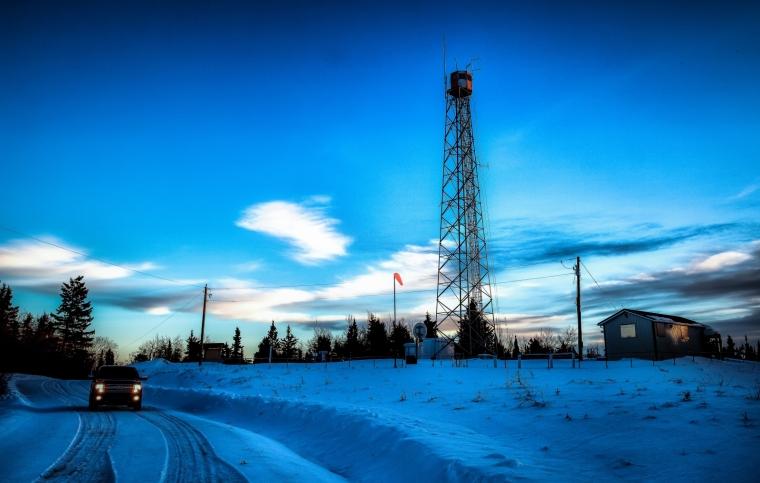 Fire Tower, Watt Mountain - High Level, Alberta 3