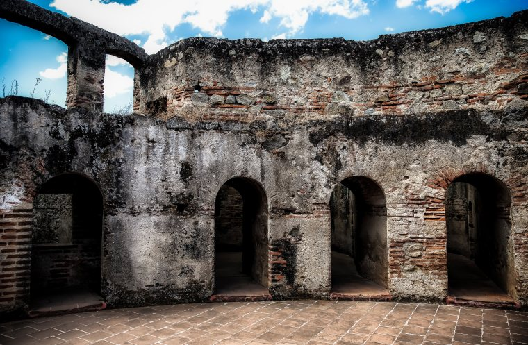 Convent Architecture - Antigua