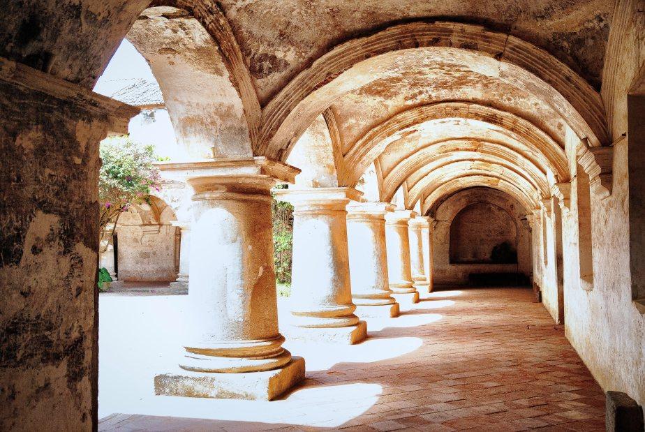 Convent Atrium Arches - Antigua