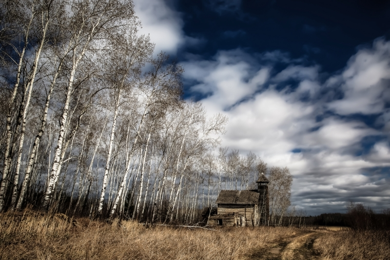 St Louis Mission - Buttertown, Alberta 1