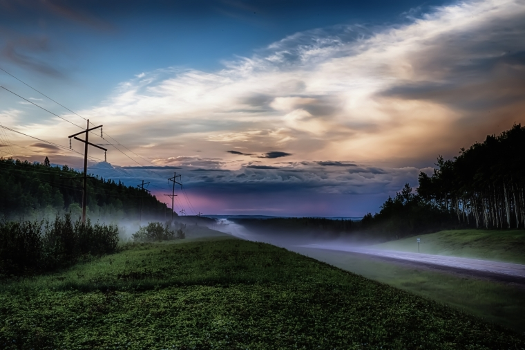 Highway Mists - Twin Lakes, Alberta 2