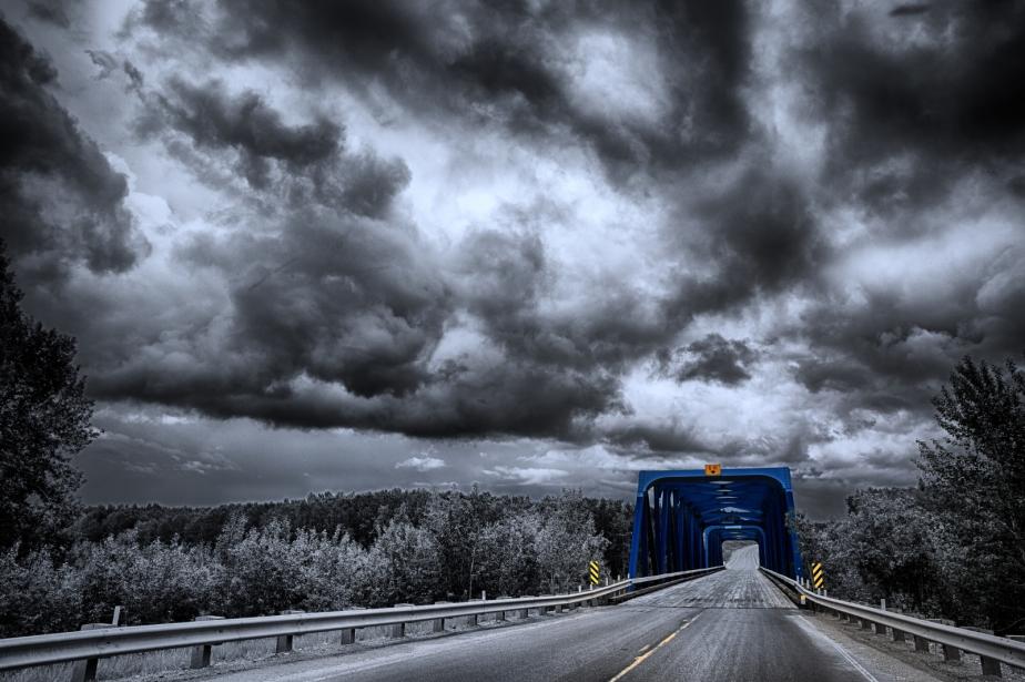 Wabasca River Bridge - Tallcree, Alberta 2