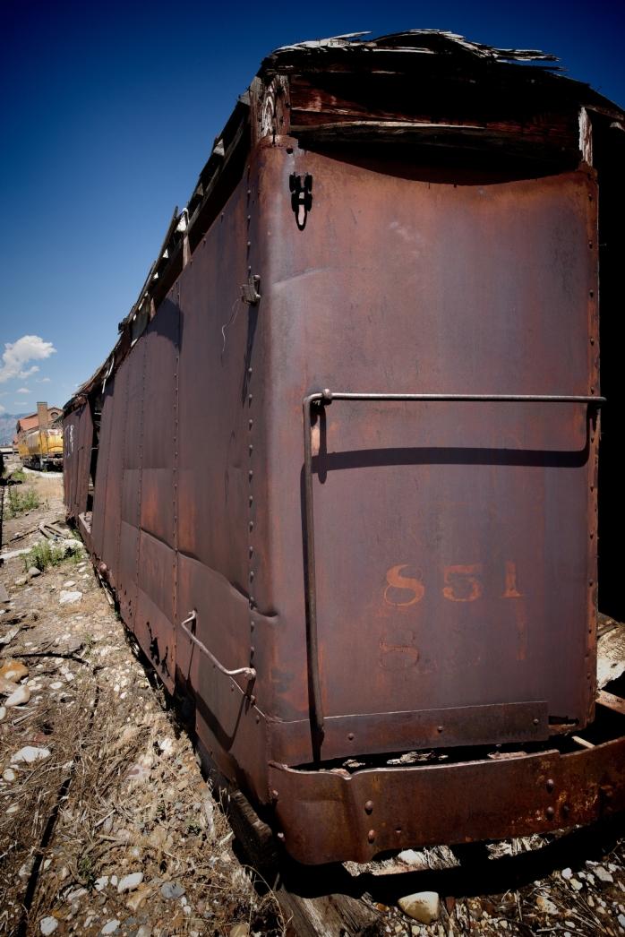 Rail Car - Ogden Utah
