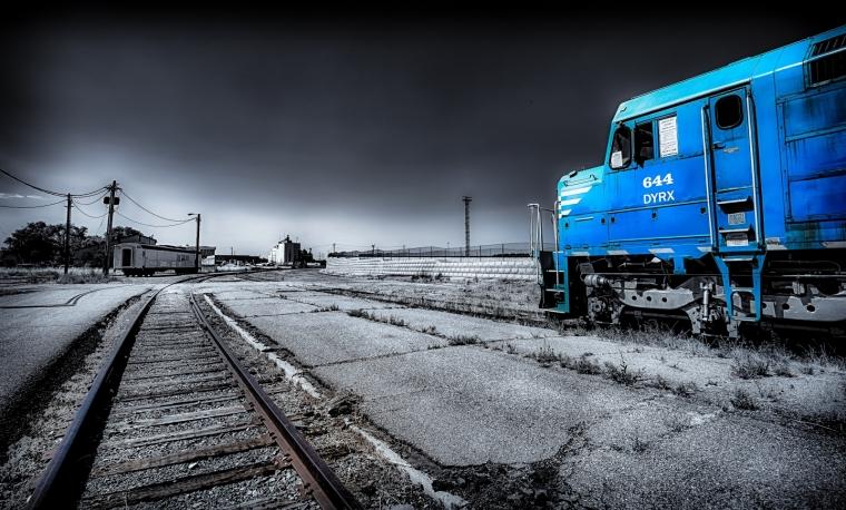 Train Engine - Ogden, Utah