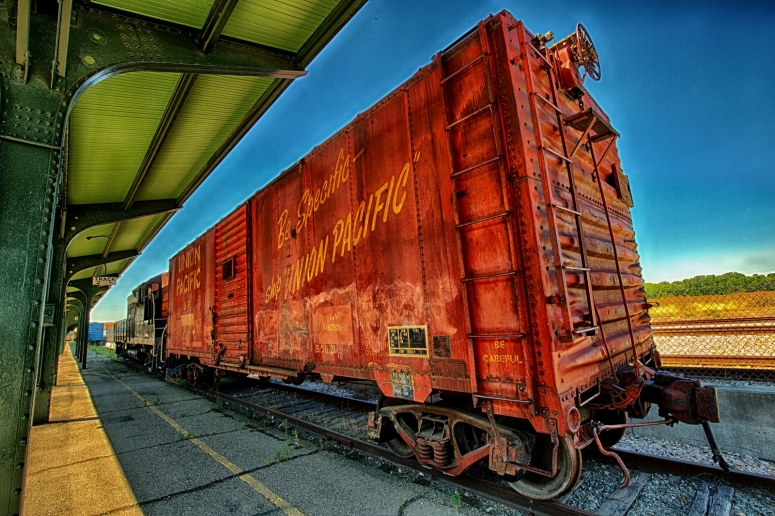 Union Pacific Box Car - Ogden, Utah
