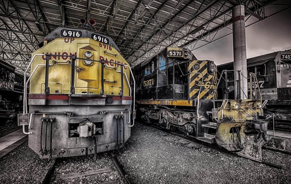 Union Pacific Engine - Ogden, Utah