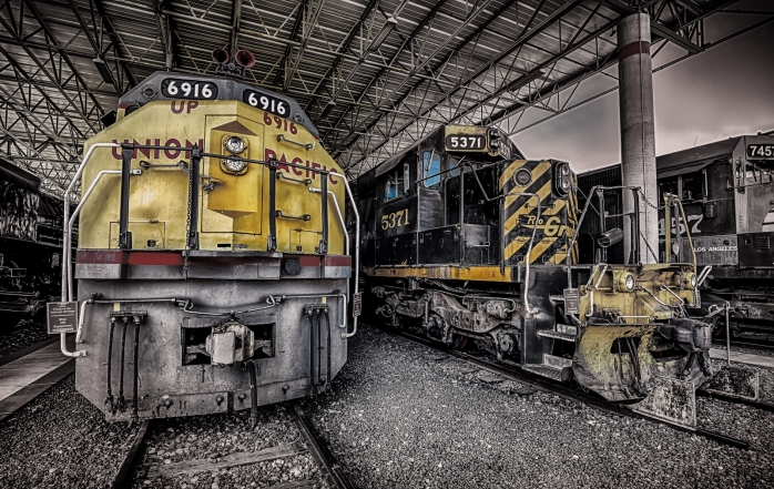 Union Pacific Engine - Ogden, Utah