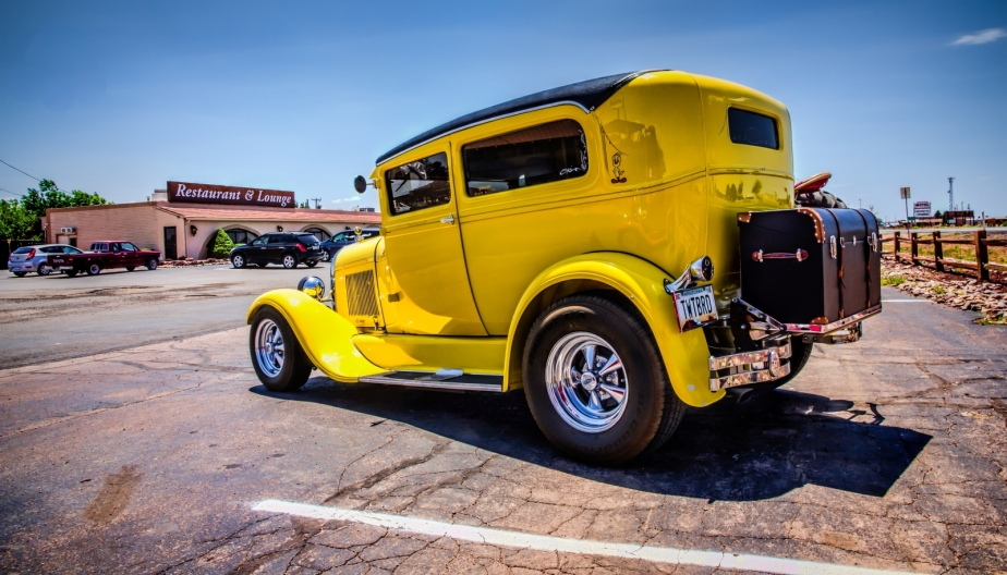 1931 Ford Sedan  - Grand Canyon, Arizona 1