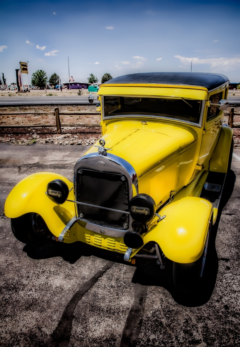 1931 Ford Sedan  - Grand Canyon, Arizona 2