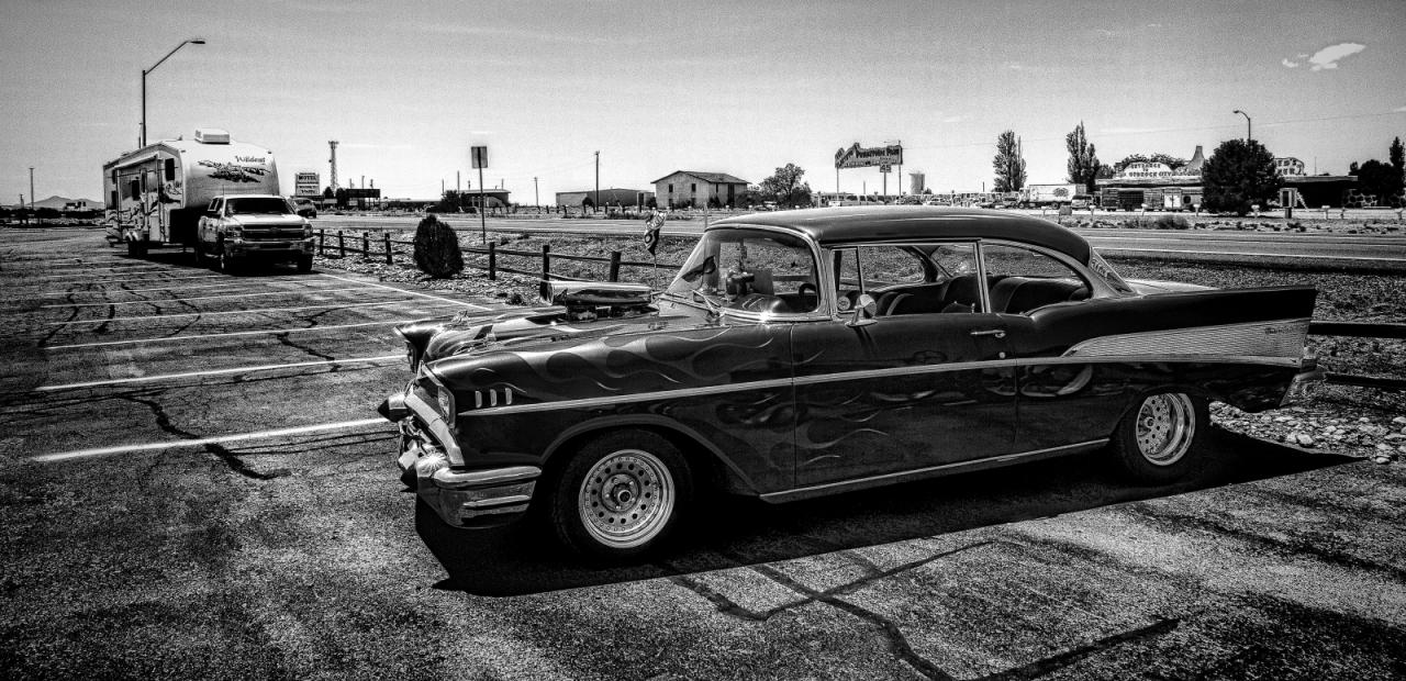 1957 Chevrolet Belair - Grand Canyon 1