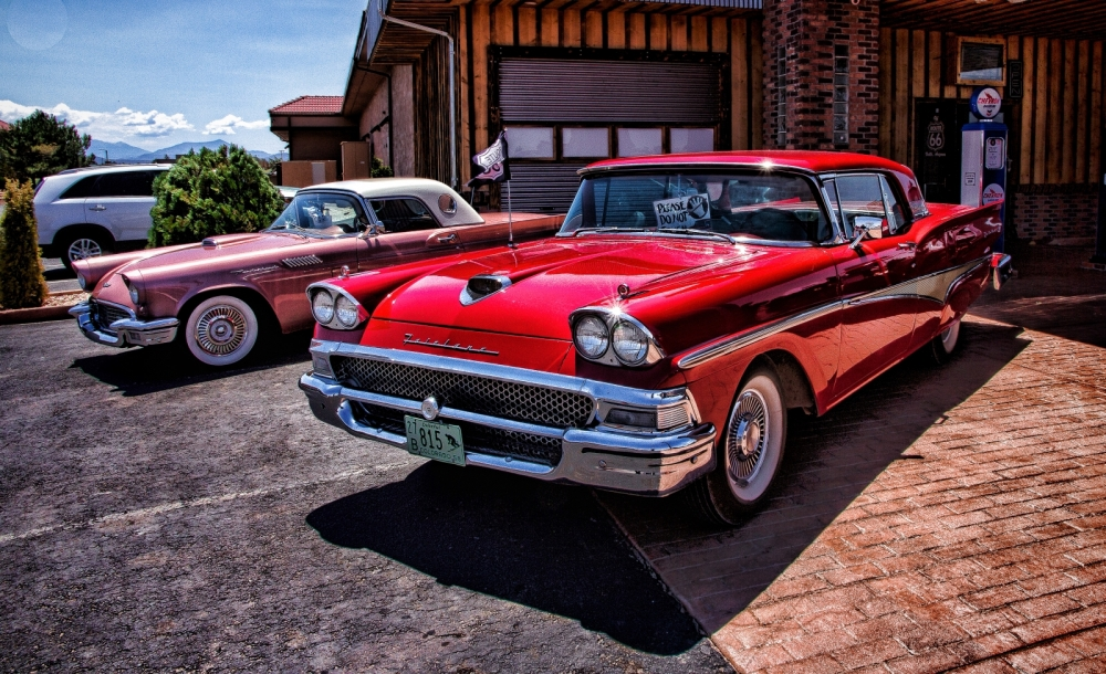 Fairlane 500 and Thunderbird - Grand Canyon Arizona