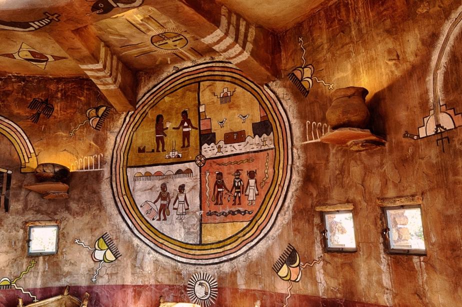Medicine Wheel - Grand Canyon Watchtower 1
