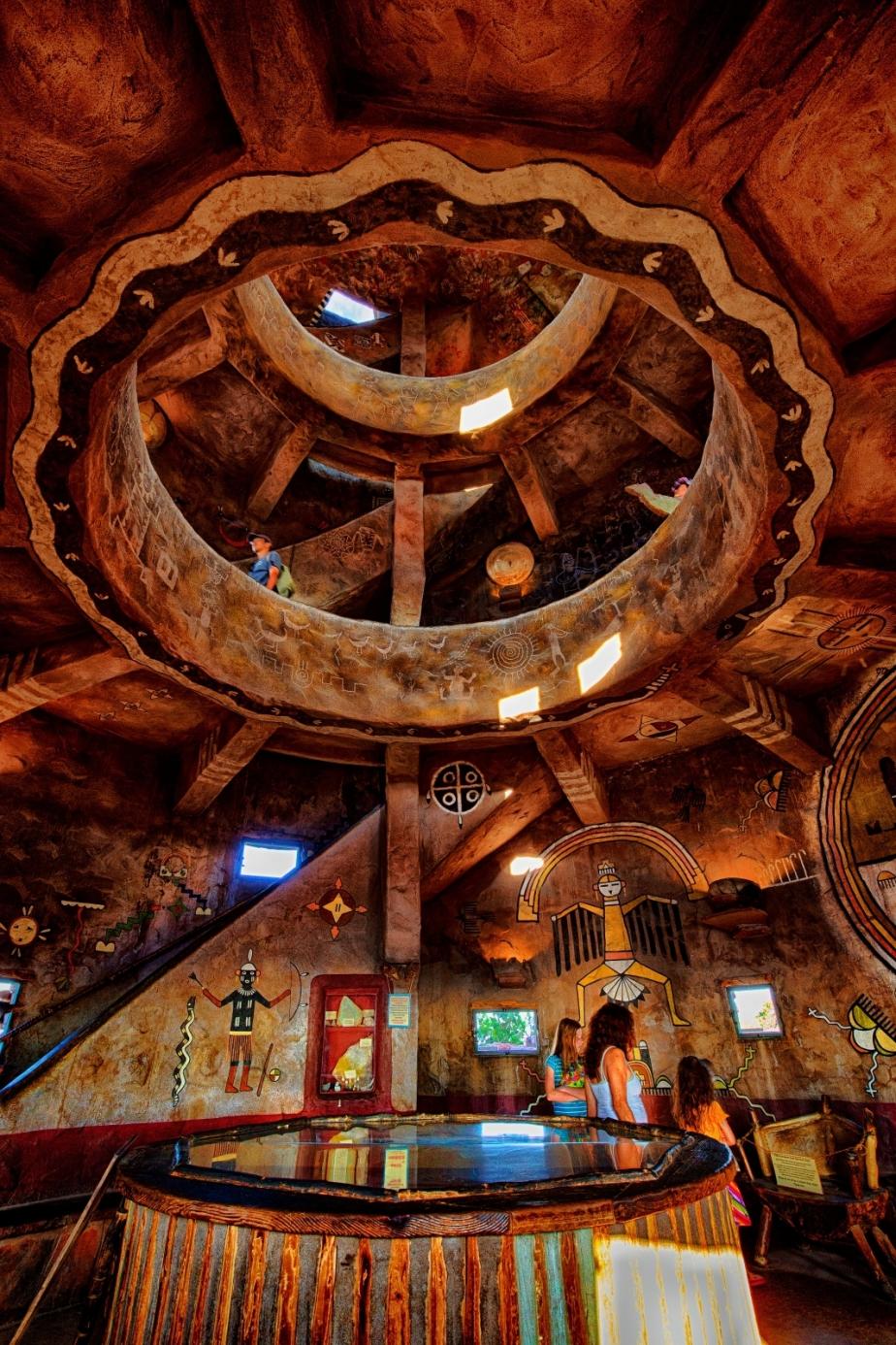 Medicine Wheel - Grand Canyon Watchtower 2