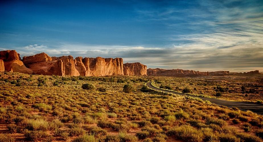 Sunrise - Arches Nat'l Park, Moab, Utah 1