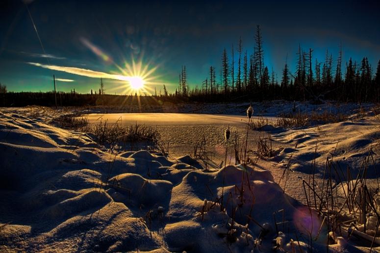 Afternoon Sun - Watt Mountain 1