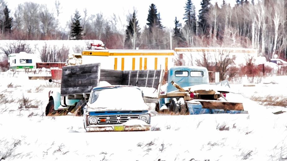 Dormant Rusting Relics - Manning, Alberta 2