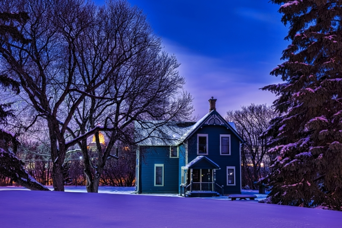 Walterdale House Green - Edmonton, Alberta - Canada