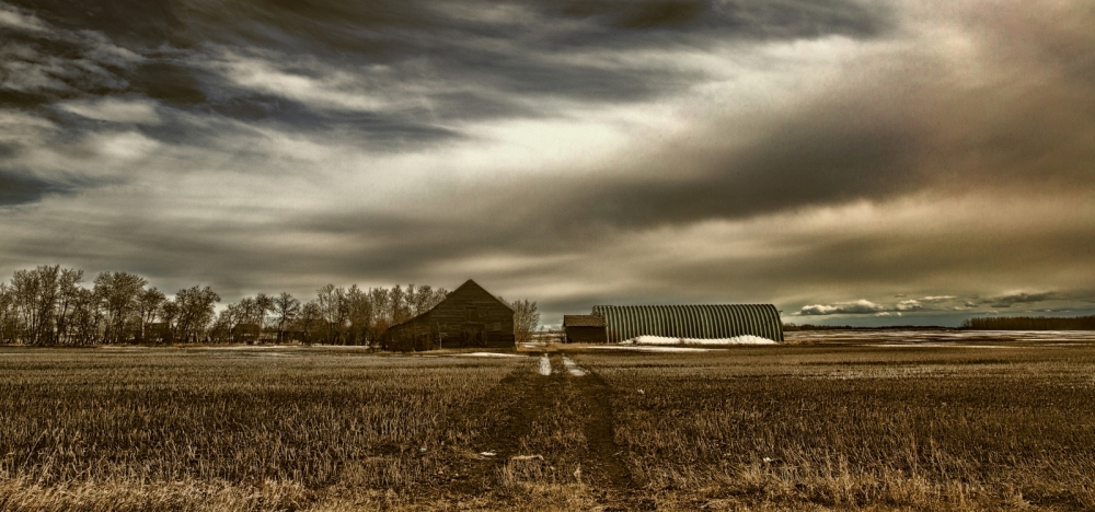 Barn and Quonset - Fairview, Ab - Canada 1