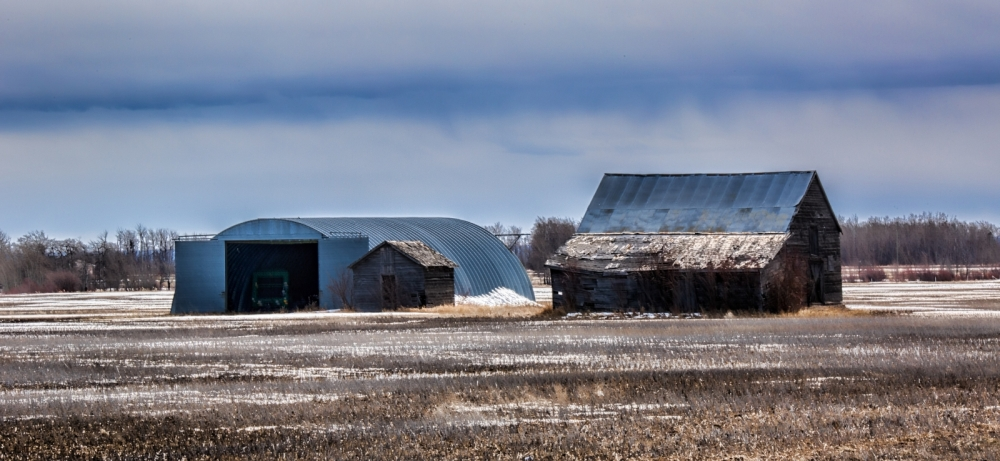 Barn and Quonset - Fairview, Ab - Canada 2