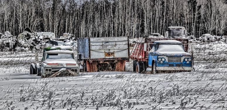 Farm Trucks - Manning, Alberta 2