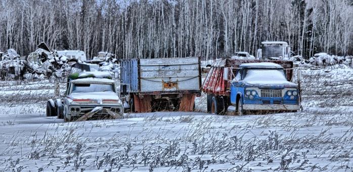 Farm Trucks - Manning, Alberta 3