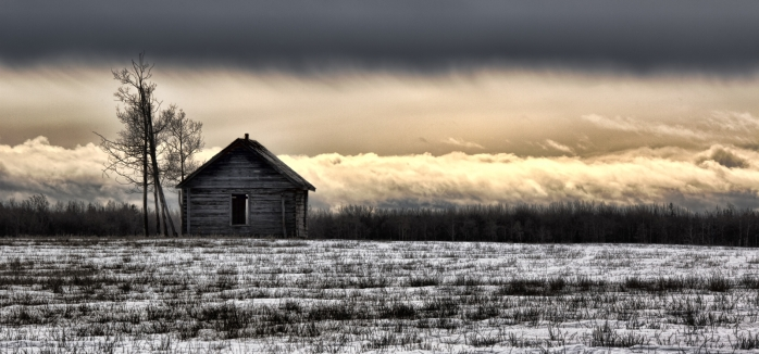 Homestead on a Hill - near Sexsmith, Alberta - Canada