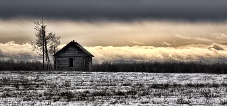 Homestead on a Hill - near Sexsmith, Alberta - Canada