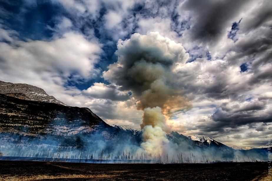 Controlled Burn - Jasper, Alberta - Canada 1