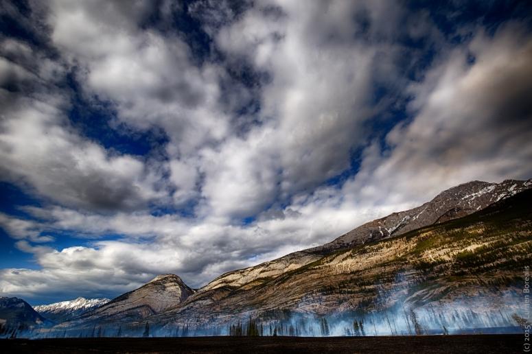 Controlled Burn - Jasper, Alberta - Canada 2