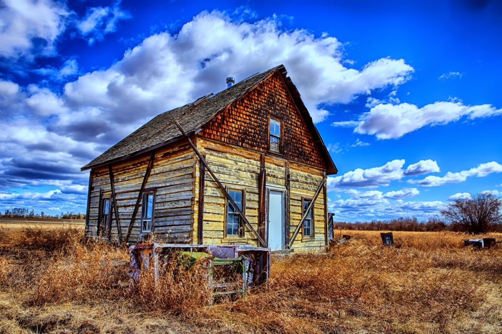 Gull Lake Homestead - Up Close, Fort Vermilion, Alberta Canada 1
