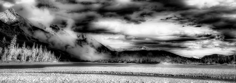 Infrared - Jasper National Park, Canada