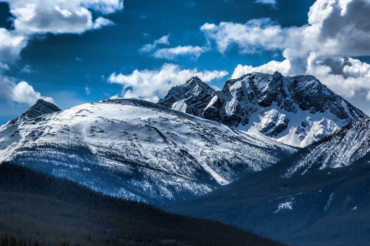 Mountains - Jasper, Alberta - Canada 1