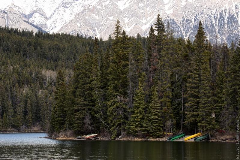 Pyramid Lake HDR - Jasper, Alberta - Canada