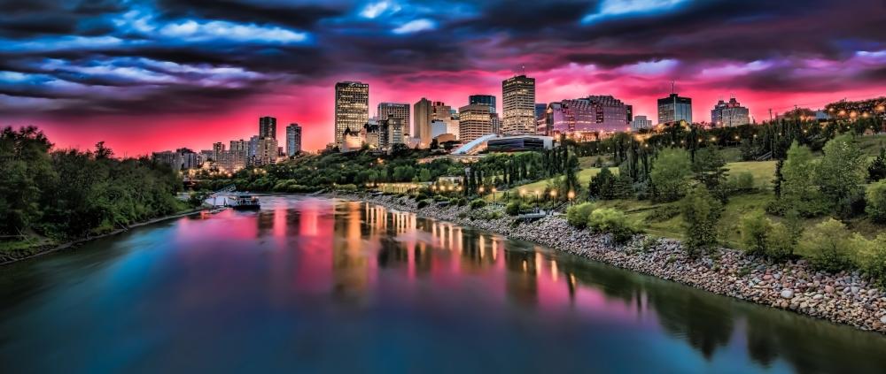 Edmonton Skyline - Edmonton, Alberta Canada 1