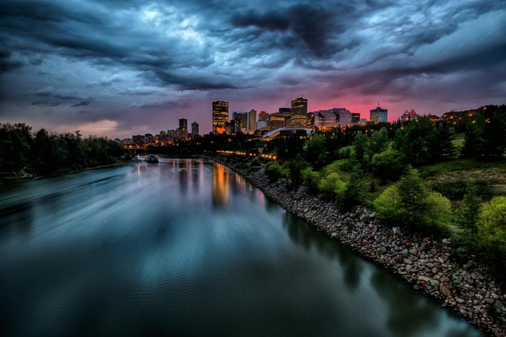 Edmonton Skyline - Edmonton, Alberta Canada 3