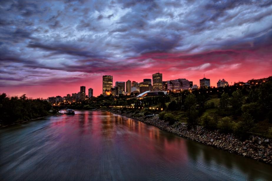 Skyline - Edmonton, Alberta - Canada