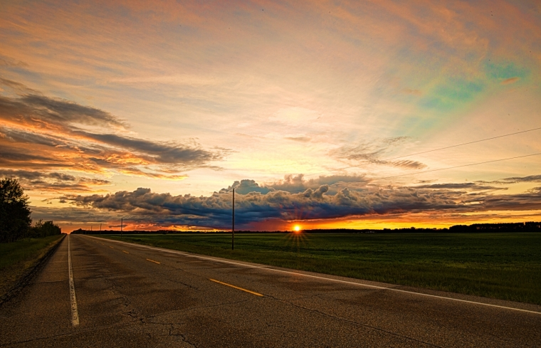 Sunset - Warrensville, Alberta Canada 1