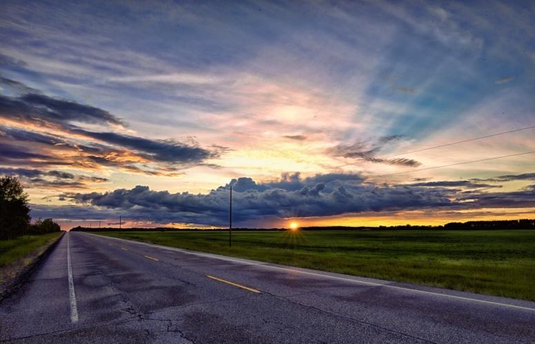 Sunset - Warrensville, Alberta Canada 2