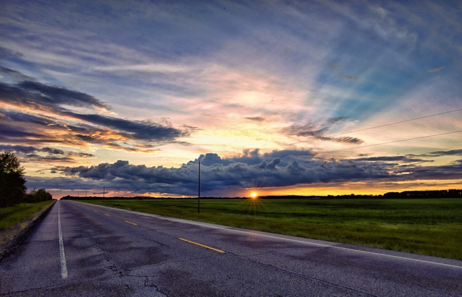 Sunset - Warrensville, Alberta Canada 2