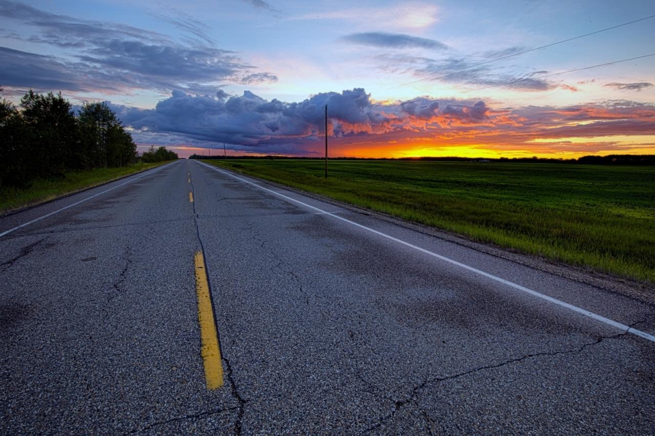 Sunset - Warrensville, Alberta Canada 3