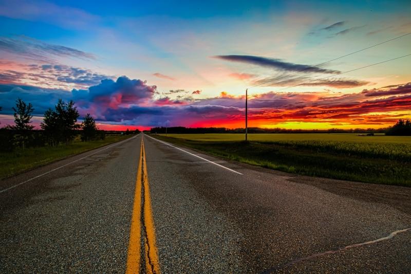 Sunset - Warrensville, Alberta Canada 4