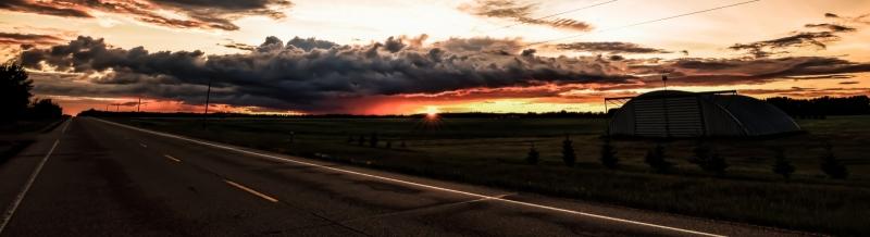 Sunset - Warrensville, Alberta Canada 5