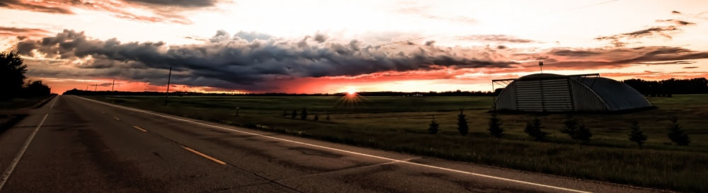 Sunset - Warrensville, Alberta Canada 5