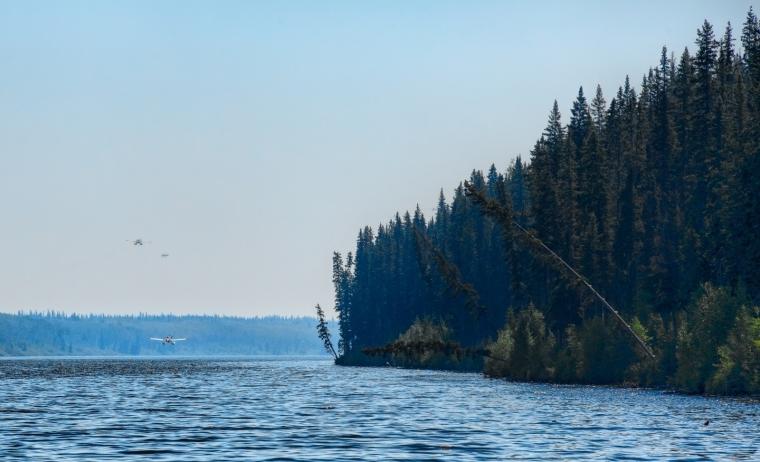 Wildfire - Hutch Lake, Alberta, Canada - 1
