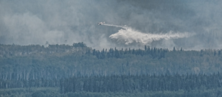 Wildfire - Hutch Lake, Alberta, Canada - 15
