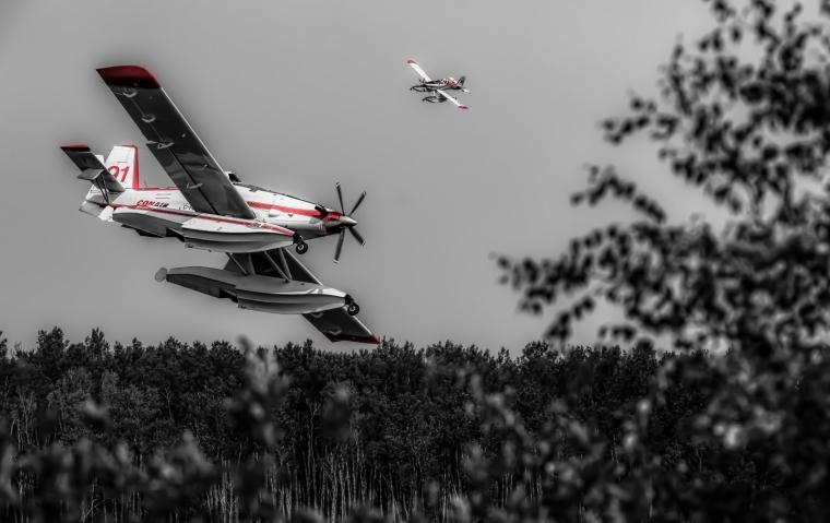 Wildfire - Hutch Lake, Alberta, Canada - 7